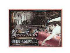 Elvis Magnet Car/ Graceland 3D Laser