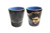 Elvis Shot Glass Blue Sweater Ceramic