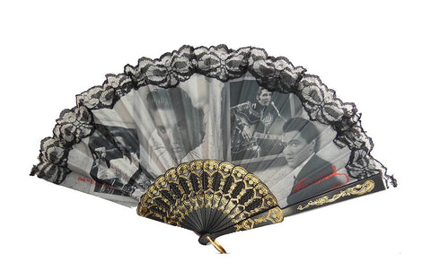 Elvis Hand Fan Frames