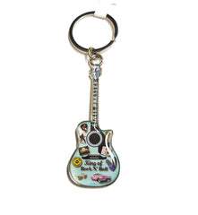 Elvis Key Chain Guitar Patches
