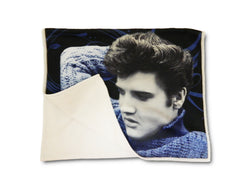 Elvis Kitchen Towel Blue Sweater