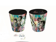 Elvis Shot Glass Colorful Collage