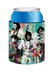 Elvis Huggie Colorful Collage