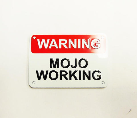 Magnet Mojo Working Metal