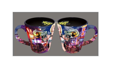 James Danger -Memphis Mug Double Guns Latte