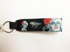 James Danger Key Chain Wrist Gypsy Woman