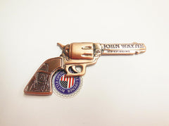 John Wayne Bottle Opener/Magnet Copper Pistol