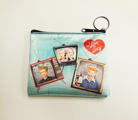 Lucy Key Chain /Coin Purse TV'S
