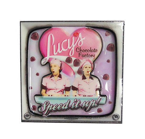 Lucy Magnet Laser 3D Chocolate Factory TV