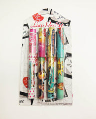 Lucy Pen Set -4/Pack-