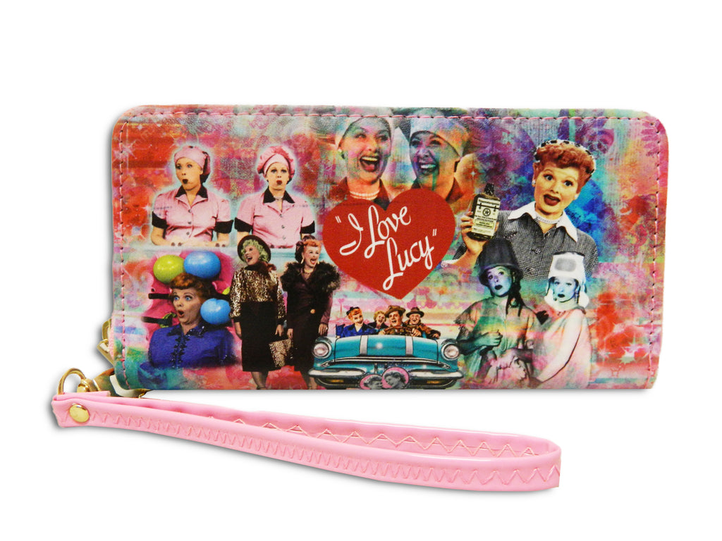 Lucy Wallet Colorful Collage