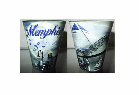 Memphis Shot Glass Smokey Night