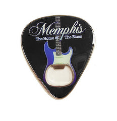 Memphis Bottle Opener Guitar Pick