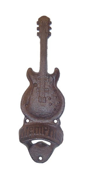 Memphis Bottle Opener Cast Iron