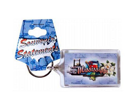 Mississippi Key Chain Lucite Elements