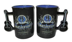 Nashville Mug Music City w/ Guitar Handle