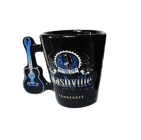 Nashville Shot Glass Music City w/Guitar Handle