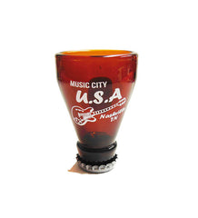 Nashville Shot Glass Beer Bottle Top