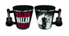 Million Dollar Quartet Shot Glass with Guitar Handle