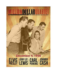 Million Dollar Quartet Magnet Sepia