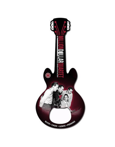 Million Dollar Quartet Bottle Opener Guitar