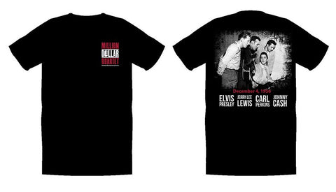 Million Dollar Quartet T-Shirt Black