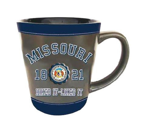 Missouri Latte Mug State Seal Embossed