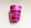 Branson Shot Glass Pink Metallic