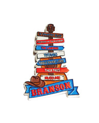 Branson Magnet Sign Post Guitar