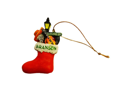 Branson Ornament Stocking