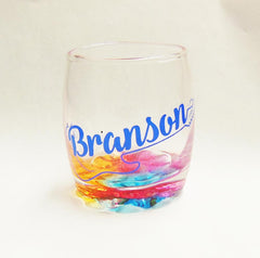 Branson Shot Glass Rainbow Base