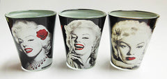 Marilyn Shot Glasses