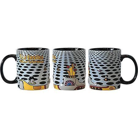 Beatles Mug Sea of Holes Embossed