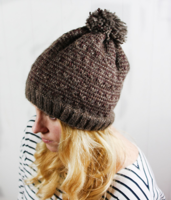 Danish Winter Hat Free Pattern