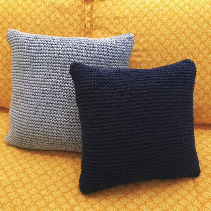 Knit Throw Pillows