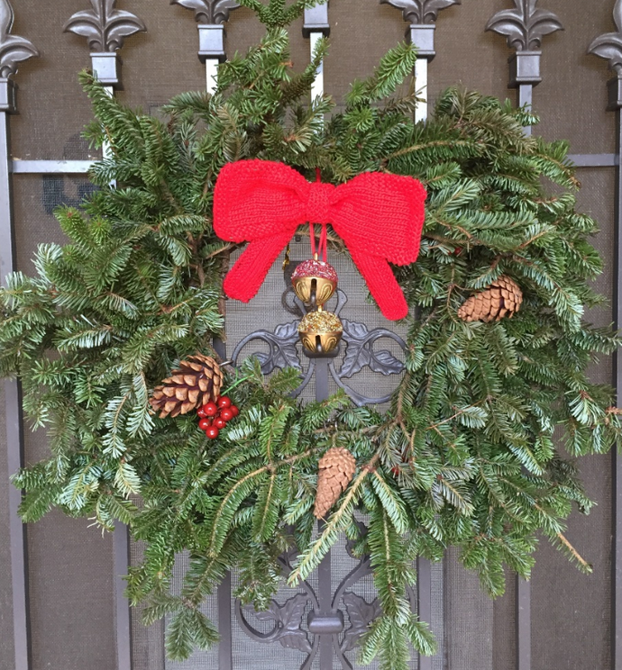 Christmas Wreath Bow Free Pattern