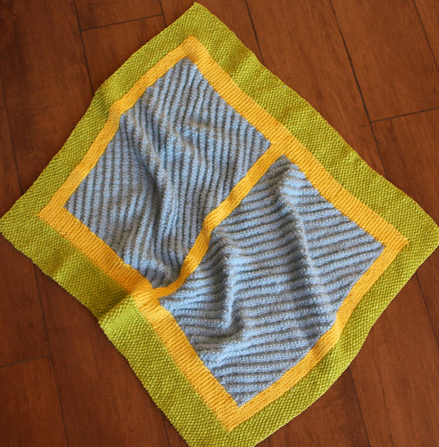 Blue Moon Baby Blanket Pattern