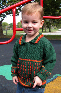 Forest Fire Sweater Pattern