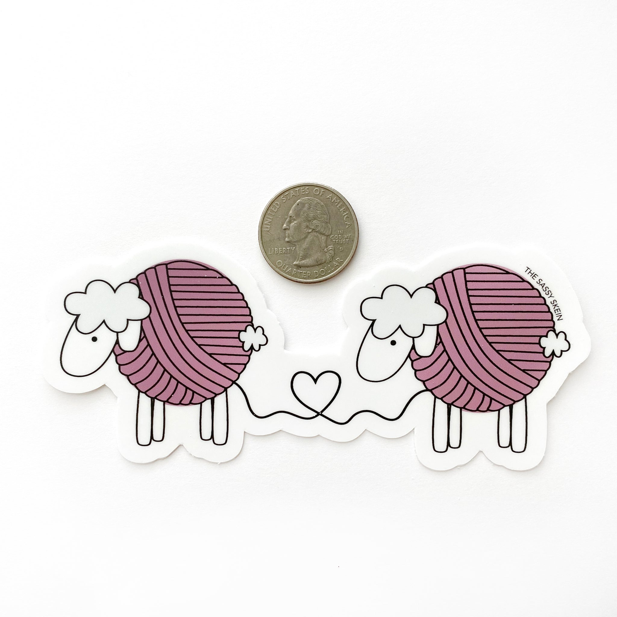 Yarn Sheep Sticker