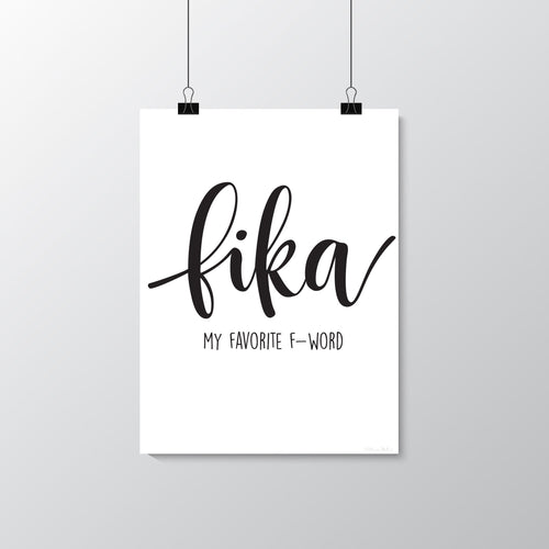 FIKA - my favorite f-word