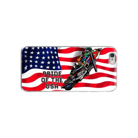 Pride Of The USA Speedway Phone Case