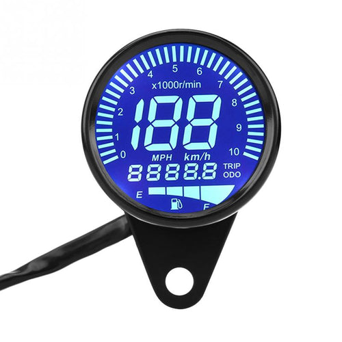 Cafe racer gauge