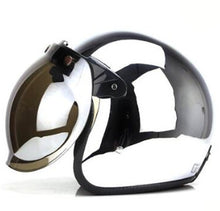 Chrome Open Face Helmet