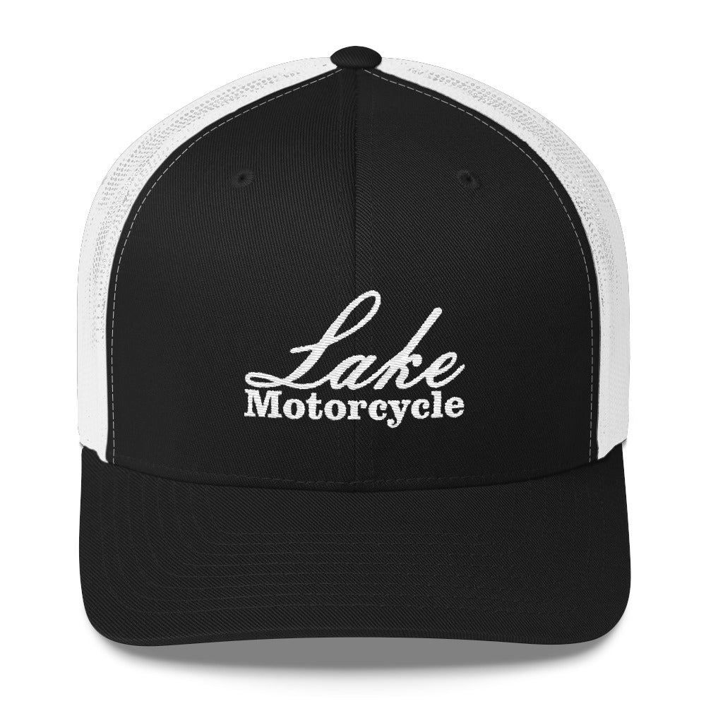 Lake Motorcycle Snap-back Hat