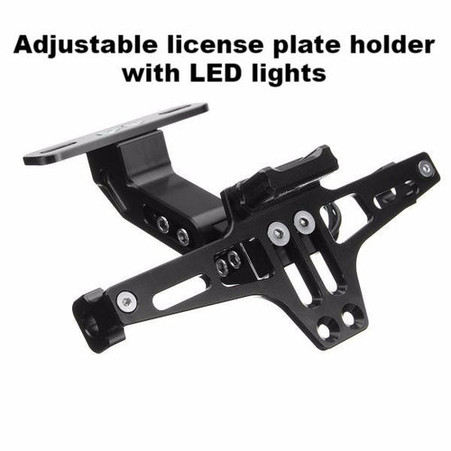Universal License Plate Holder w/LED