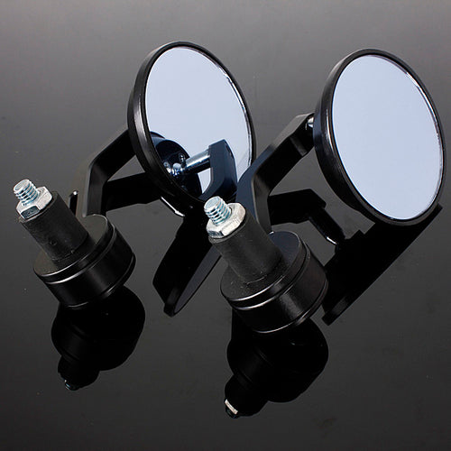 Round Bar End Mirrors