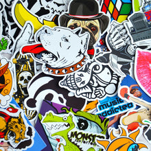 Graffiti Stickers Mixed Colored Qty 100