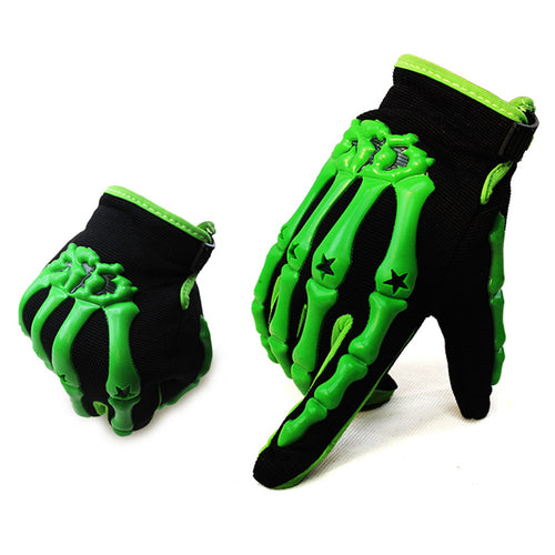 Skeleton Riding Gloves