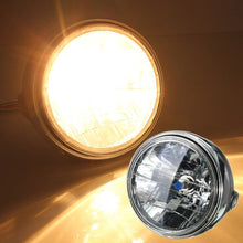 "7"" Chrome Ring Headlight"