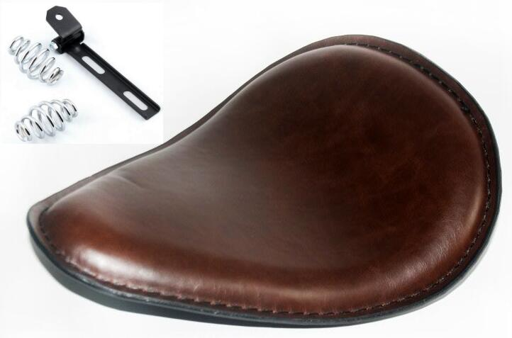 Brown Bobber Solo Seat